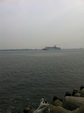 城南島の海
