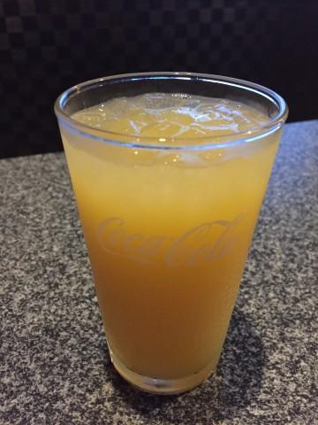 カラオケのジュース